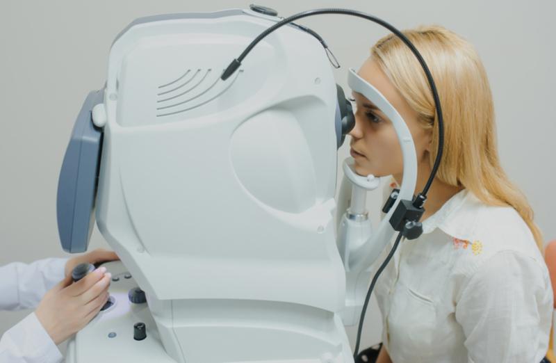 OCT eye scan 4d scan london