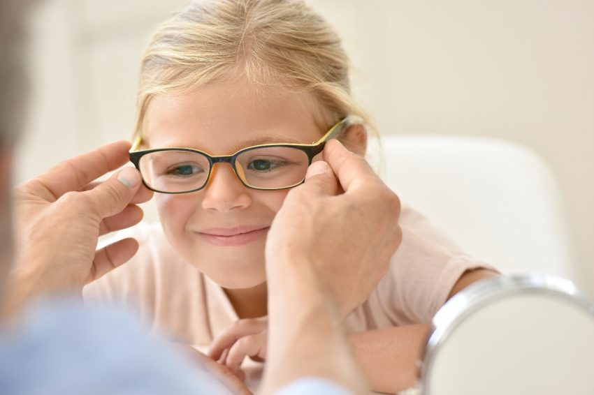 childrens glasses optician london